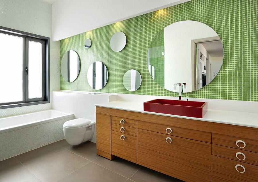 cách sử dụng gương trong nhà tắm