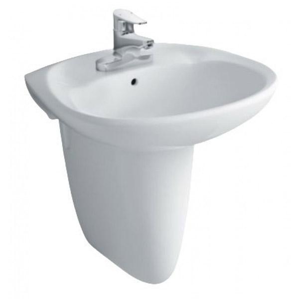 Chậu rửa Inax treo tường L-284V+L-284VC