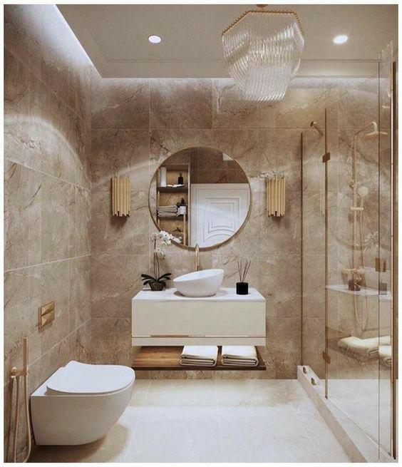 nhà vệ sinh bằng kính